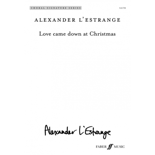 Love Came Down at Christmas, new