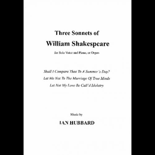 Three Sonnets Of William Shakespeare